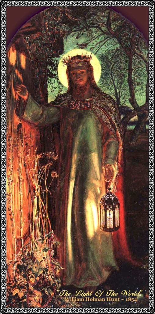 "William Holman Hunt, ""The Light of the World"""