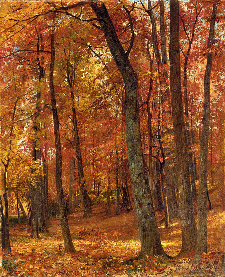 "William Trost Richards, ""Forest Interior"""
