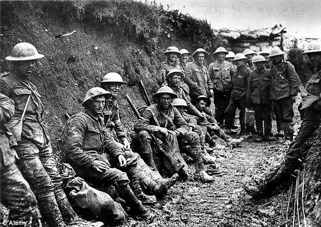 World War I soldiers
