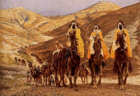 "James Tissot, ""Journey of the Magi"" (1894)"