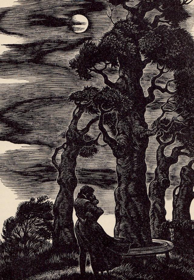 """Fritz Eichenberg, """"Jane Eyre"""""""