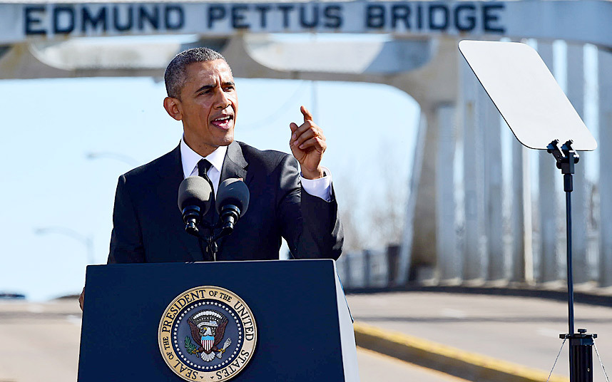 Obama in Selma