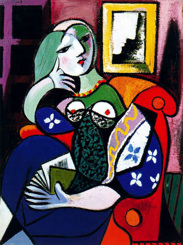 "Picasso, ""Woman with Book"""