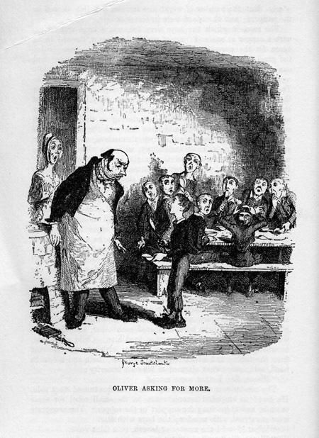 "Cruikshank, ""Oliver Twist"""
