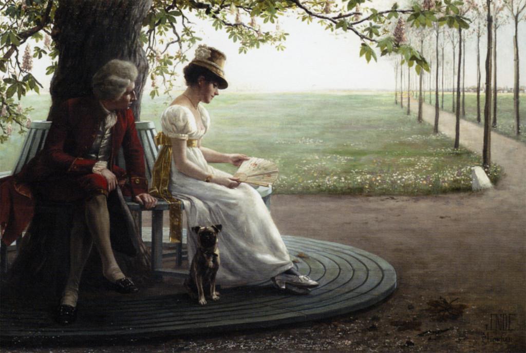 """Felix Friedrich Von Ende,  """"Courtship"""""""