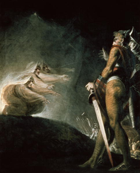 "Henry Fuseli, ""Macbeth and the Witches"""