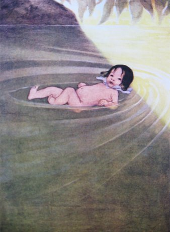 "Jessie Willcox-Smith, ""Water Babies"""