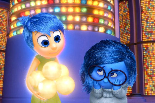 """Joy and Sadness in """"Inside Out"""""""